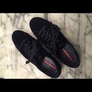 Prada Suede Sneakers- Size 12 Mens